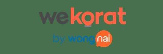 Logo WeKorat by Wongnai