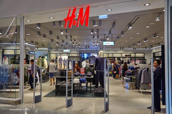 H&M แบรนด์เสื้อจากสวีเดน ชั้น 1 Snow Zone