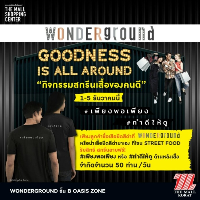 Wonderground Goodness is All Around