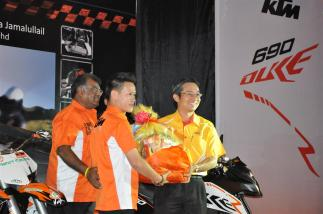 KTM Duke R (2011) Launch - 082