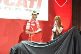 Ducati Monster 795 Launch - 064 Valentino Rossi & Hannah Tan