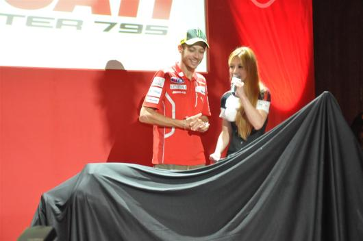Ducati Monster 795 Launch - 065 Valentino Rossi & Hannah Tan
