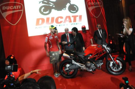 Ducati Monster 795 Launch - 076 Valentino Rossi