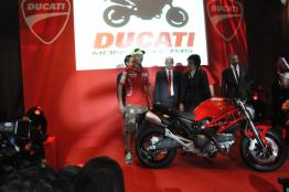 Ducati Monster 795 Launch - 077 Valentino Rossi