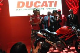 Ducati Monster 795 Launch - 078 Valentino Rossi