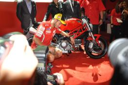 Ducati Monster 795 Launch - 085 Valentino Rossi