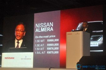 2012 Nissan Almera Launch 030