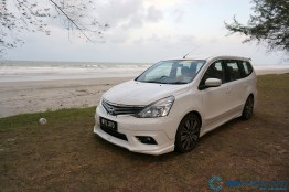 2014 Nissan Grand Livina Tuned By Impul test Drive 033