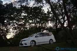 2014 Nissan Grand Livina Tuned By Impul test Drive 037