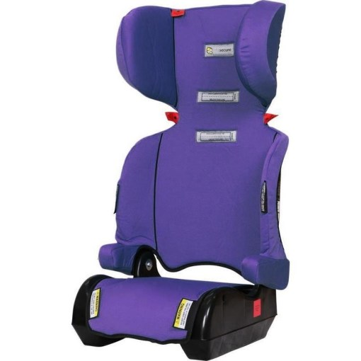 InfaSecure Foldable Child Booster Car Seat   Purple   Buy Baby Car Seats h m s Remaining  InfaSecure Foldable Child Booster Car Seat