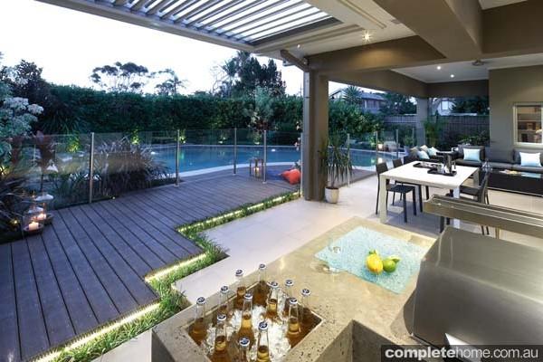 LJ Hooker Real Estate - A Designer Outdoor Entertaining ... on Garden Entertainment Area Ideas id=91467