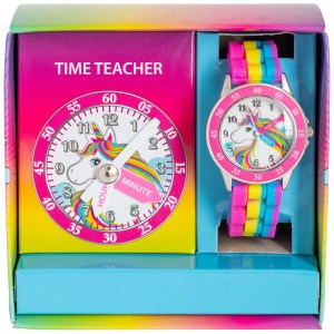 TIME TEACHER WATCH PACK – UNICORN