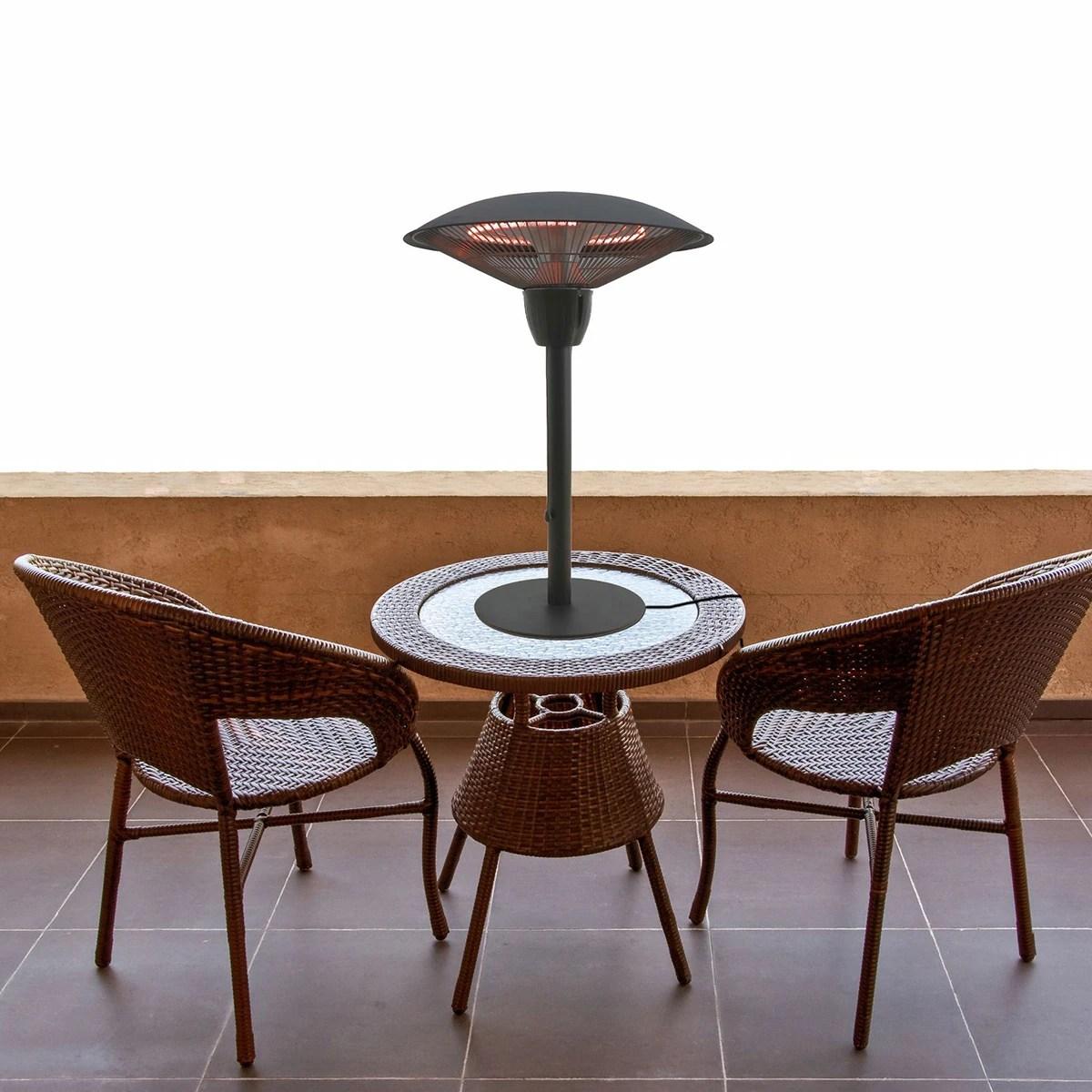 westinghouse 1500 watt electric tabletop patio heater