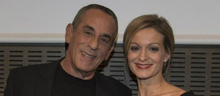 Moment Of Tenderness Between Thierry Ardisson And His Wife Audrey Crespo- Mara | The Siver Times