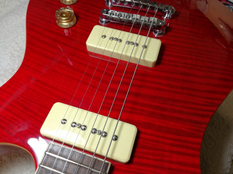 Unknown Model Of Ibanez Gio With P90 Pickups