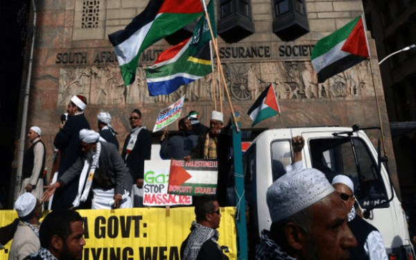 """South Africa's ruling party calls Israel's actions """"Nazi ..."""