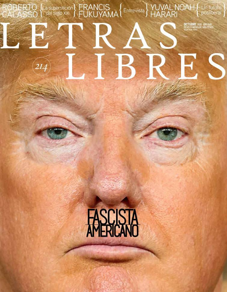 Letras Libres' controversial cover drew comparisons between Donald Trump and Hitler. Image via Letras Libres