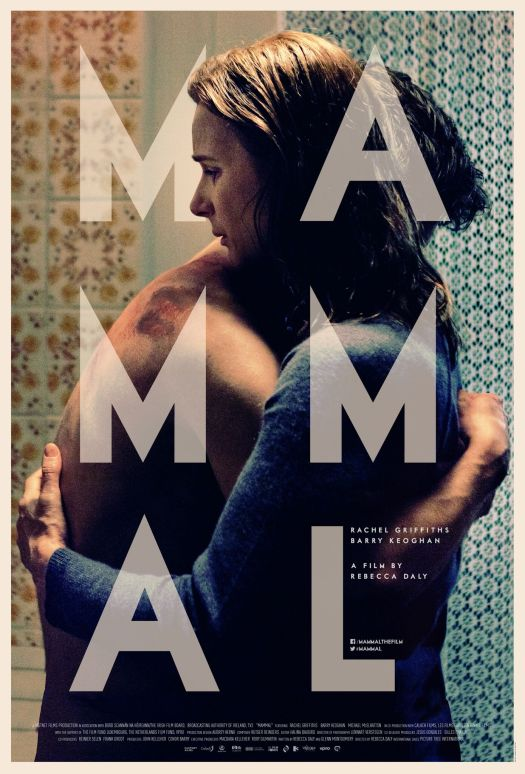 A film poster for Mammal, designed by Annie Atkins