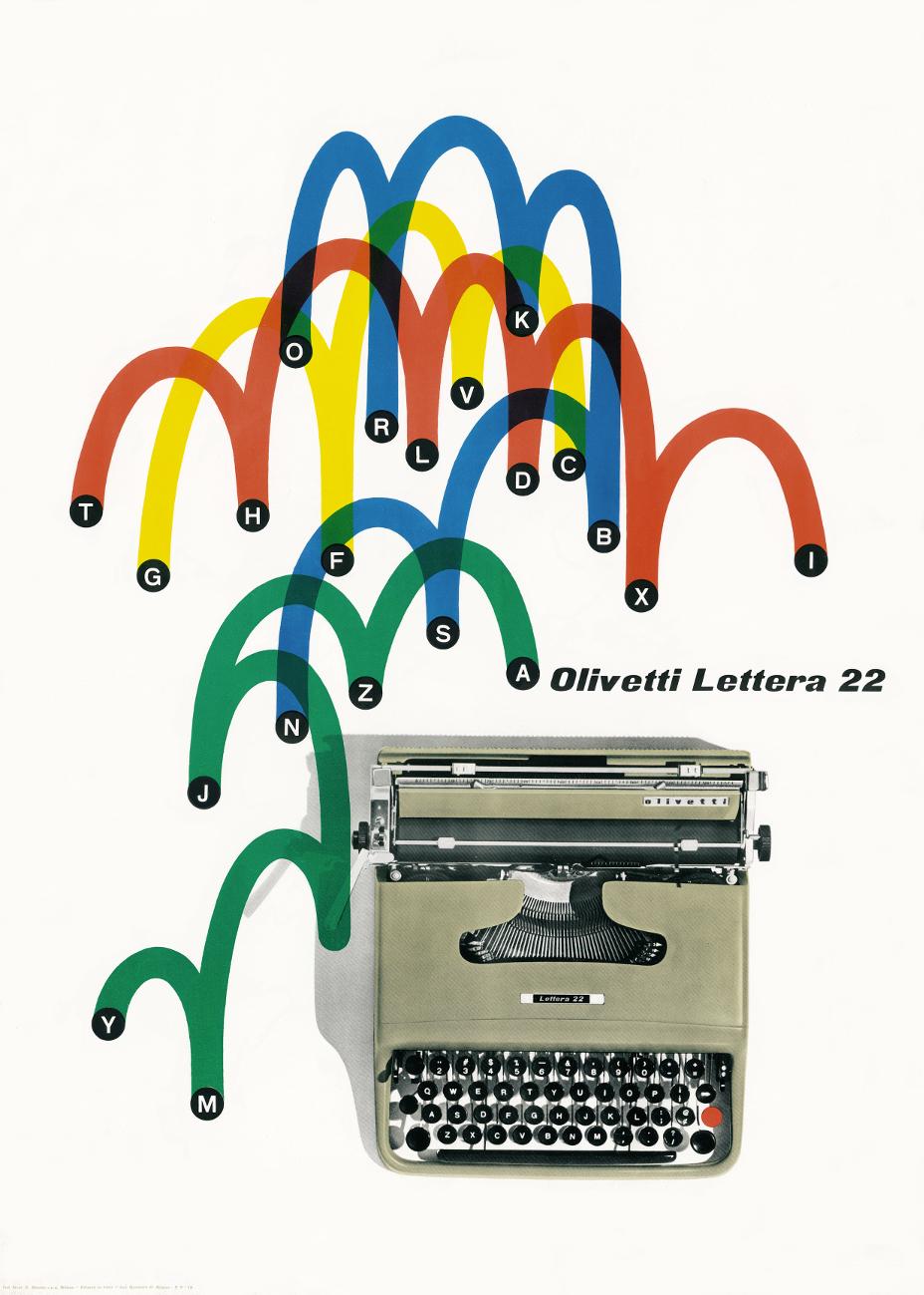 Olivettis Design History Goes On Show Design Week