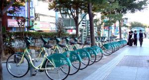 2012: Changwon, Republic of Korea. Changwon's Nearby Useful Bike, Interesting Joyful Attraction (NUBIJA) Project.