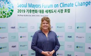Anna Reynolds, Lord Mayor of Hobart, Australia, on the special role of capital cities in combating climate change