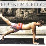 Meer energie krijgen door Yoga