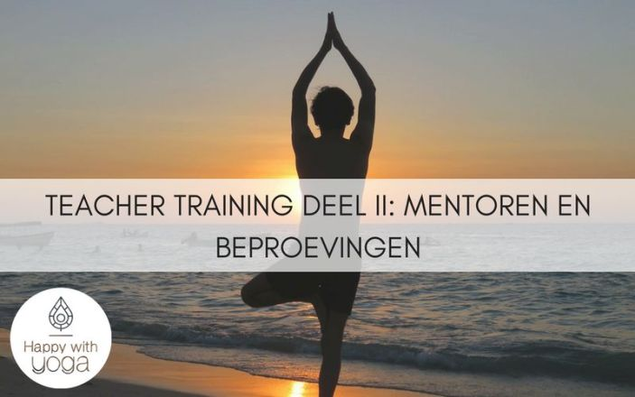 Teacher training deel II - Mentoren en beproevingen