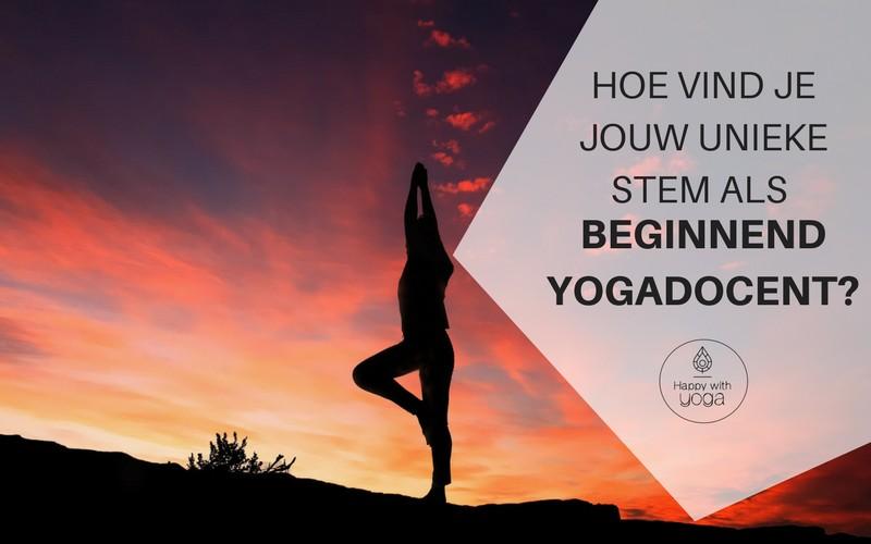 beginnend yogadocent
