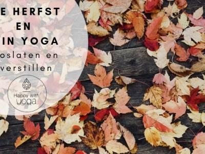 herfst en yin yoga