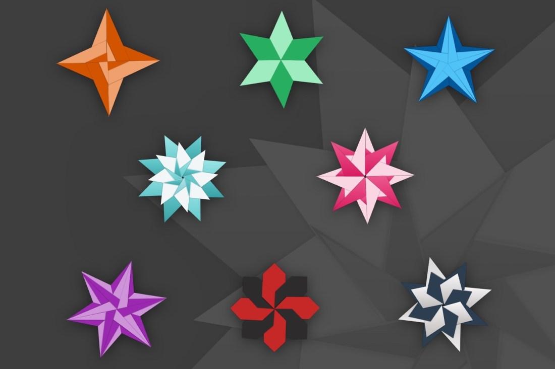 So stellen sich die meisten Origami vor (Illustration)