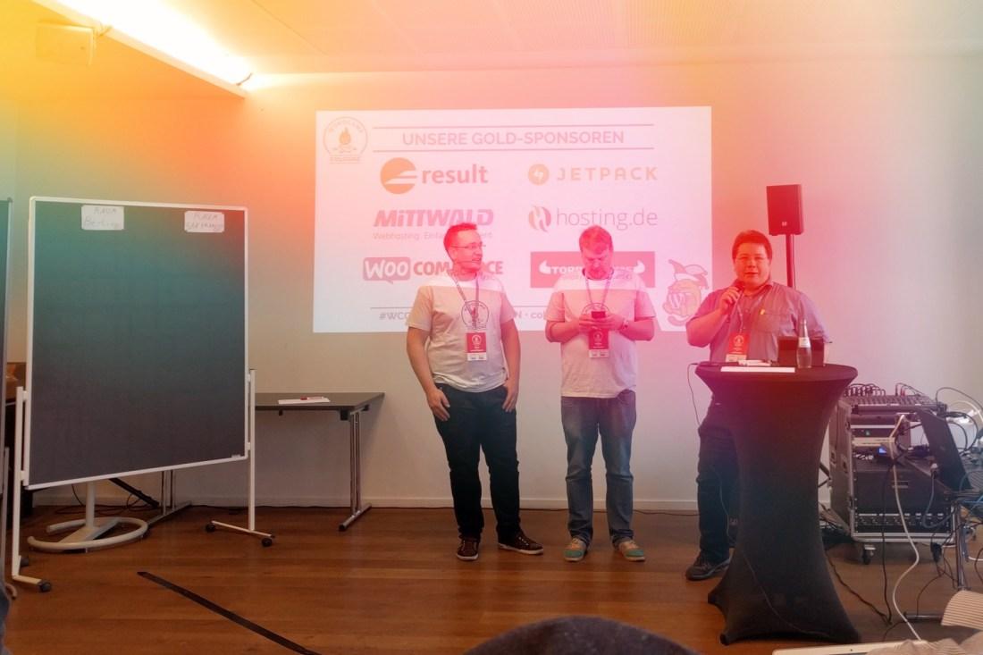 Begrüßung beim WordCamp Cologne