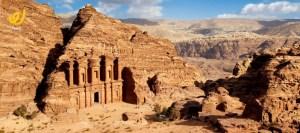 البترا اهم معالم الأردن السياحية