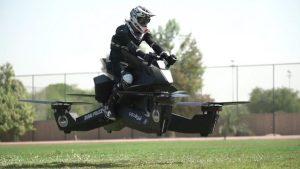 دراجة شرطة دبي الطائرة