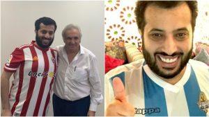 رحلة تركى ال الشيخ من مصر الى اسبانيا