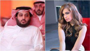 تركي ال الشيخ وزوجته الفنانة آمال ماهر