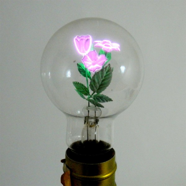 FLORAL LIGHT BULBS