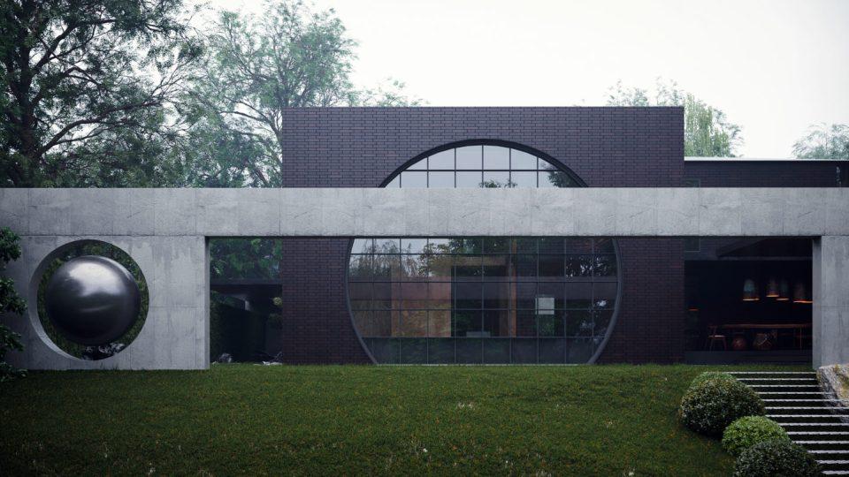 OKO HOUSE_ Sergey Makhno Architects