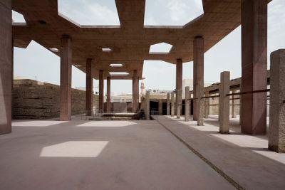 concrete rooftop