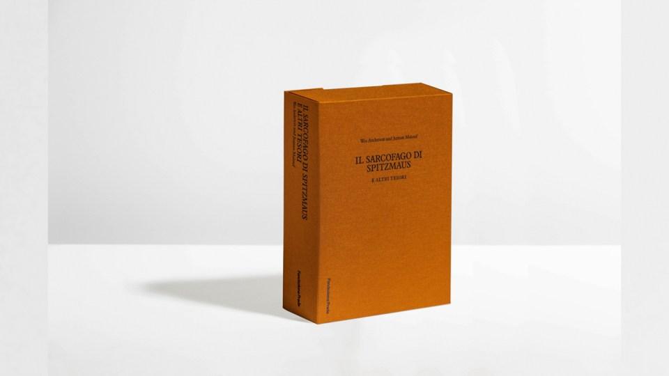 catalogo il sarcofago di spritzmaus, mostra fondazione prada, milano