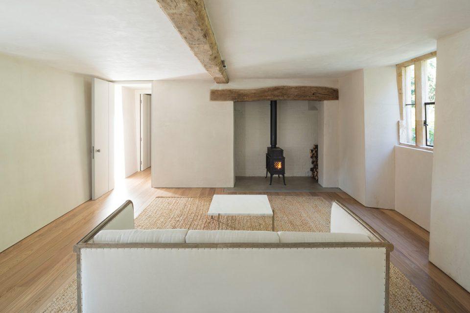 white living room, home farm