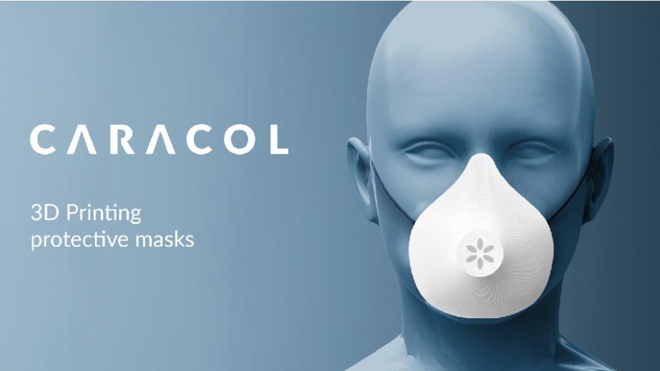 Caracol 3D printed masks