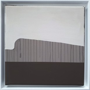 frame 2#3, 2019 - acrilico su tela - 25 x 25 cm