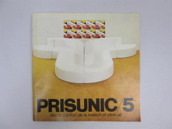 rare catalogue prisunic 5 decor