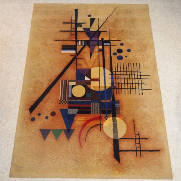 kandinsky tapis mecanique motif