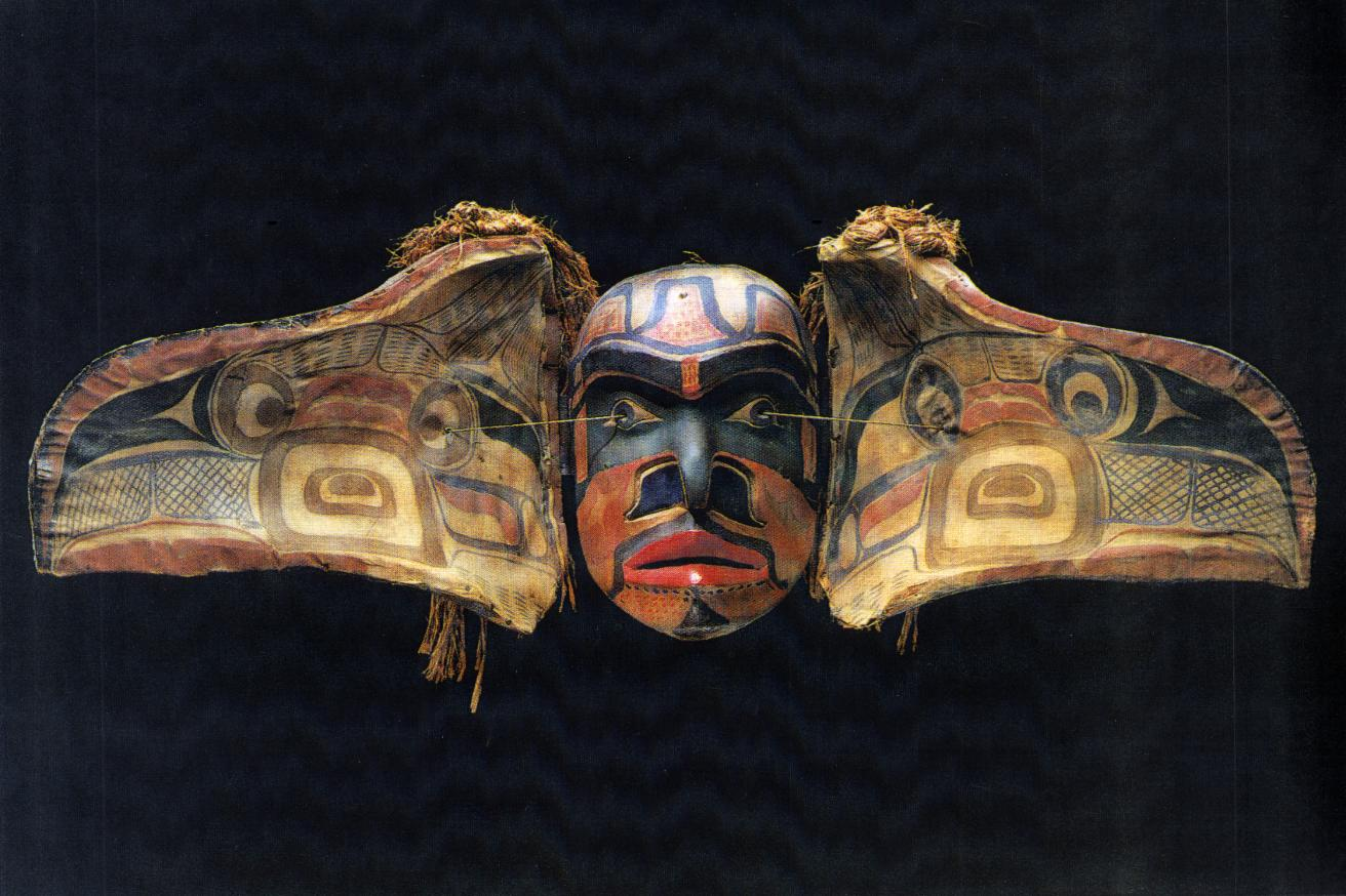 Kwakiutl Transformation Mask