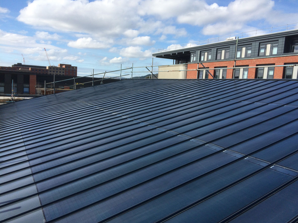 Fitted PV System