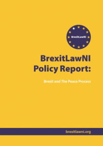 Cover of one of the BrexitLawNI reports