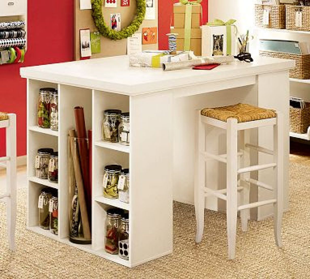 Craft Table Ideas