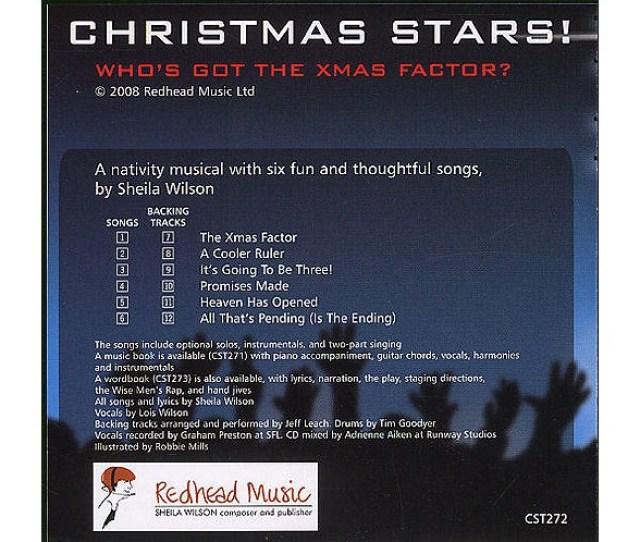Sheila Wilson Christmas Stars Cd