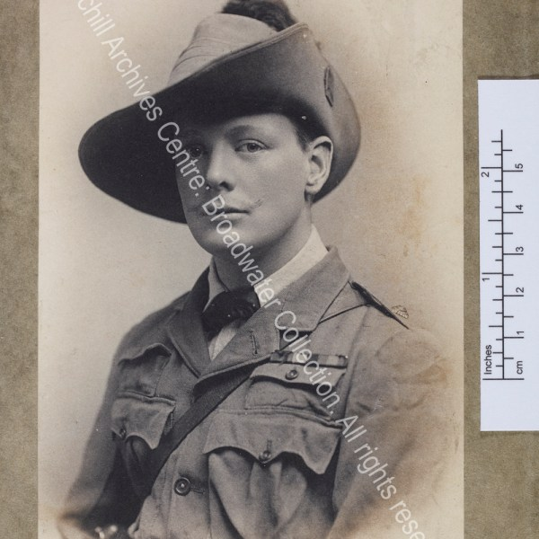 Head and shoulders photograph of WSC